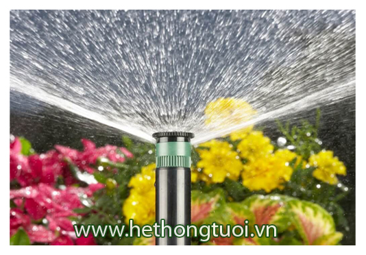 Vòi phun Pop up chỉnh góc Pro-Spray Hunter USA