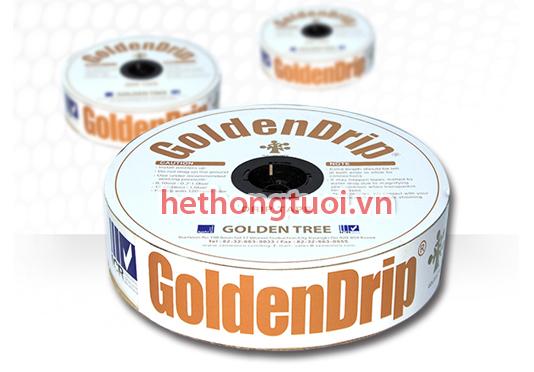Dây tưới nhỏ giọt Golden Drip 16mm Korea